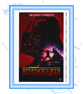 Revenge of the Jedi Adv Test Proof One-Sheet